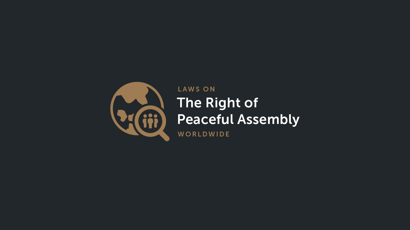 New ECNL website on freedom of assembly